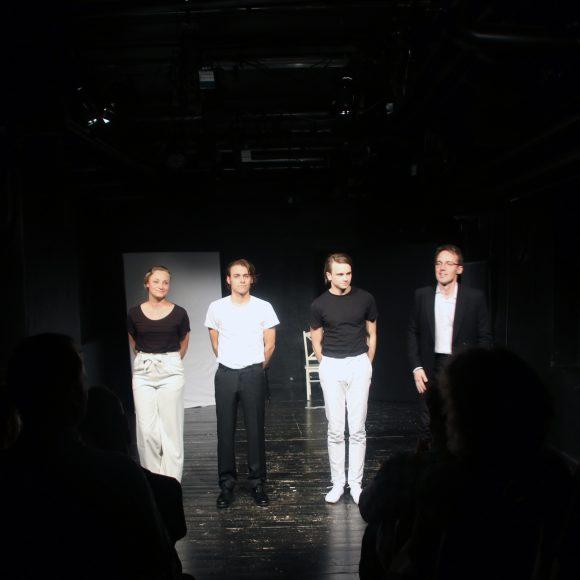 Anton Forsdik, Philip Carlsson, Andrea Jäderlund, Vincent Saldell
