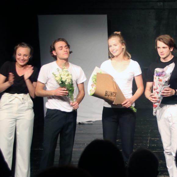 Anton Forsdik, Philip Carlsson, Andrea Jäderlund, Elsa Wörmann