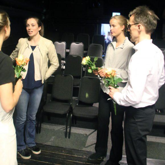 Fanny Forsdik, Andrea Jäderlund, Elsa Wörmann, Vincent Saldell