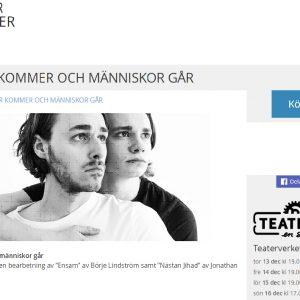 Strindbergs Intima Teater – Människor kommer och människor går